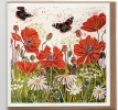 Red Admirals and Poppies